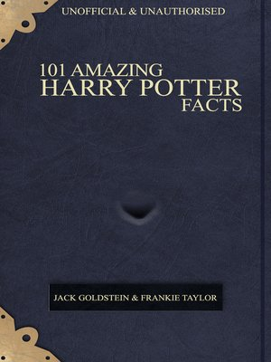 cover image of 101 Amazing Harry Potter Facts